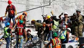 Hopes fade in Mexico City quake rescue operations