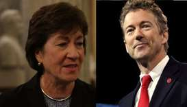 Senator Susan Collins and Senator Rand Paul