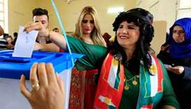 Iraqi Kurds shrug off threats to stage referendum