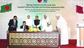 RasGas seals 15-year deal with Petrobangla
