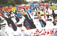 Students protest against Myanmar