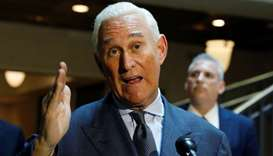 US political consultant Roger Stone
