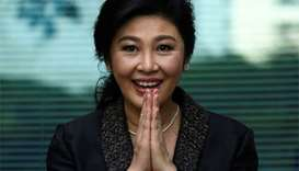 Ousted Thai PM Yingluck gets 5 years'  jail in absentia