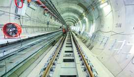 Qatar Rail among finalists for ITA Tunnelling Awards