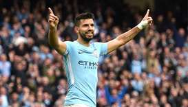 Manchester City striker Aguero injured in Dutch car crash