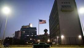 US orders 60 percent of staff out of embassy in Cuba