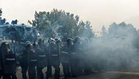 Protesters clash with police at Turin's G7 labour meeting