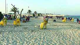 MME teams clean beaches, remove waste