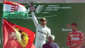 Hamilton goes top after Italian GP win