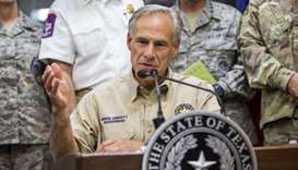 Texas governor estimates storm damage at $150 bn to $180 bn