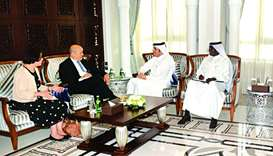 FM and French counterpart discuss Gulf crisis