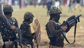 Two suspected rebels killed in Kashmir gun battle