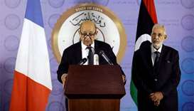 French FM in Tripoli vows to help resolve Libya crisis