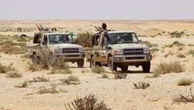 Libyan forces attack Islamic State near former stronghold