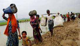 Nearly 90,000 Rohingya escape violence as crisis looms