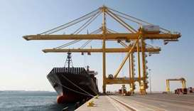 Hamad Port was officially inaugurated on Tuesday. PICTURE: Reuters/Naseem Zeitoon