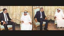 Transport Minister meets visiting dignitaries