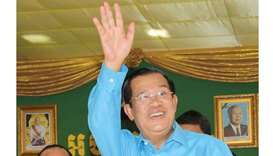 Cambodian strongman vows to remain in office for another decade
