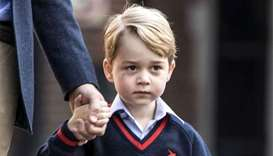 Prince George starts school, pregnant mum Kate too ill to go