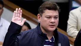 Duterte's son, son-in-law deny drug smuggling claims