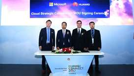 Huawei Cloud, Microsoft Apps forge strategic co-operation