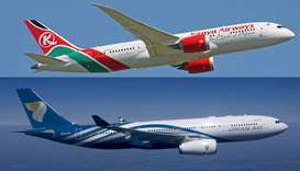 Kenya Airways and Oman Air