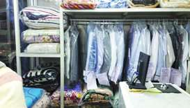 Keeping 'abandoned' clothes is becoming a headache for small, medium sized laundries