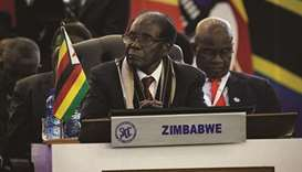 Mugabe says opposition group in plot with West