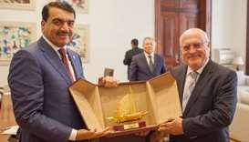 HE the Minister of Municipality and Urban Planning Mohamed bin Abdullah al-Rumaihi met with Portugal