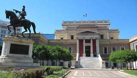 Greece questions two women over dousing museum relics with oil