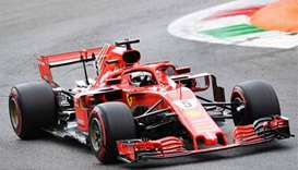 Vettel fastest in final Italian GP practice