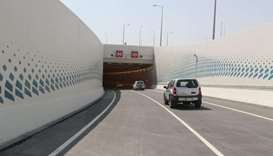 New tunnel opens on Lusail Expressway at Al Gassar Interchange