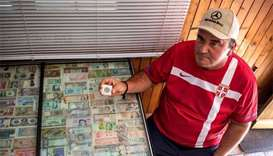 Serb spends 36 years collecting currencies, one short