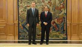 Amir's message conveyed to Spain's King Felipe