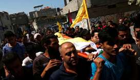 Gazans bury 12-year-old killed in Israel border clashes