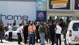 US-Israeli citizen fatally stabbed at West Bank mall