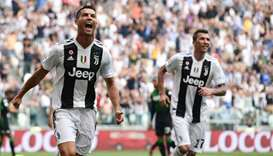 Cristiano Ronaldo gets off the mark for Juventus