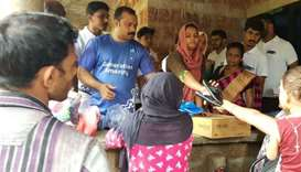 Generation Amazing coaches help in Kerala flood relief work