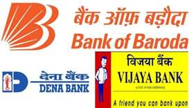 Bank of Baroda, Dena Bank and Vijaya Bank
