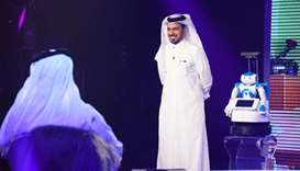 Mohammed al- Jefairi, of Abilitix, whose innovation has been selected as an Innovation Showcase for
