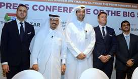 (From left) dmg events Doha country manager Rawad Sleem, Ashghal Planning & Quality Department manag