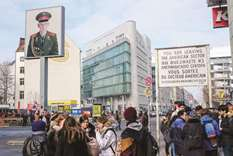 Checkpoint Charlie: Once a war spot, now a tourist trap