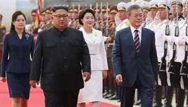 South Korean leader arrives in Pyongyang for summit