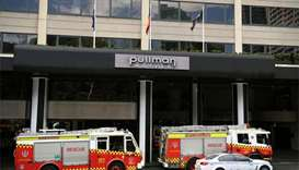 Eight people in hospital after toxic gas leak at Sydney hotel