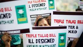 India closer to making 'triple talaq' a punishable offence