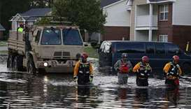Trump to visit North Carolina as rivers rise after deadly storm