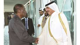 Cote d'Ivoire president leaves Doha