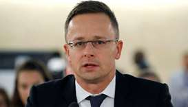 Hungarian foreign minister accuses UN rights experts of spreading lies