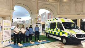 HMC's Ambulance Service is educating the public