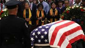 Bush, Obama to eulogise McCain at US senator's final farewell